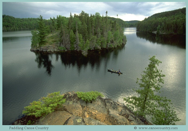 BWCA Boundary Waters Canoe Area Wilderness Canoeing